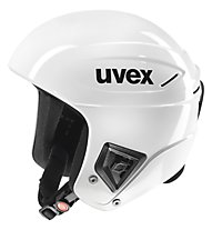 Uvex Race+ casco sci, All White