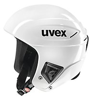 Uvex Race+ - Skihelm, All White