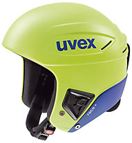 Uvex Race+ casco sci, Green/Blue