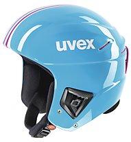 Uvex Race+ - Skihelm, Cyan/Pink
