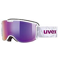 Uvex Skyper FM - maschera da sci, White/Pink