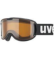 Uvex Skyper P - Skibrille, Black Mat