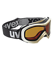 Uvex Wizzard Race - Skibrille, White/Gold