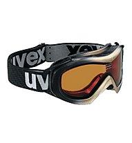 Uvex Wizzard Race - Skibrille, Black/Gold