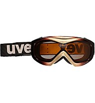 Uvex Wizzard Race - Skibrille, Deepbrown/Gold