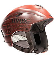 Uvex X-Ride Motion - casco da sci, Dark Red