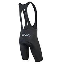 Uyn Activyon Hybrid Biking - pantaloni bici con bretelle - uomo, Black