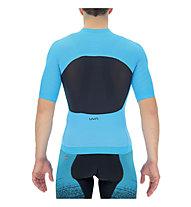 Uyn Airwing OW - maglia da ciclismo - uomo, Light Blue/Black