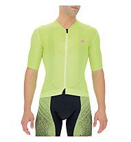 Uyn Airwing OW - maglia da ciclismo - uomo, Yellow/Black