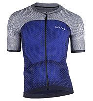 Uyn Alpha Biking Shirt - Radtrikot - Herren, Grey/Blue