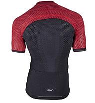 Uyn Alpha Biking Shirt - Radtrikot - Herren, Red/Black