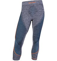 Uyn Ambityon Pants Medium Melange - Funktionsunterhose 3/4 lang - Herren, Blue/Orange