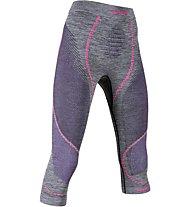 Uyn Ambityon Pants Medium Melange - Funktionsunterhose 3/4 lang - Damen, Black/Violet