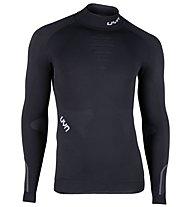 Uyn Ambityon Turtle Neck - Funktionsshirt Langarm - Herren, Black/White