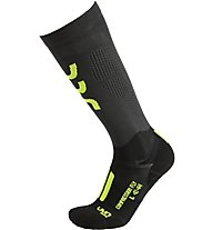 Uyn Compression Run Fly - Laufsocken - Herren, Grey/Yellow