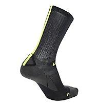 Uyn Cycling Aero - calzini da ciclismo, Black/Green