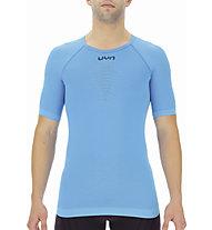Uyn Energy On UW - maglietta tecnica - uomo, Light Blue