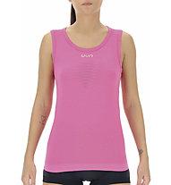 Uyn Energyon - maglietta tecnica senza maniche - donna, Pink