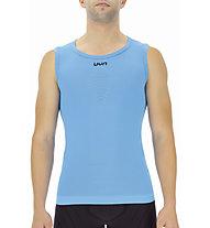 Uyn Energyon UW - maglietta tecnica senza maniche - uomo, Light Blue