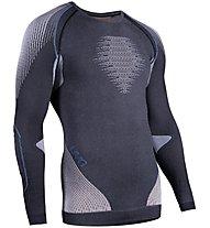 Uyn Evolutyon Long SL Melange - Funktionsshirt Langarm - Herren, Grey/Blue