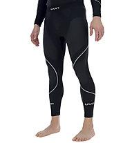 Uyn Evolutyon Pants Long - calzamaglia - uomo, Black/White