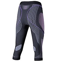 Uyn Evolutyon Pants Medium Melange - calzamaglia 3/4 - donna, Grey/Violet