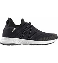 Uyn Free Flow Tune - Sneaker - Damen, Black/Dark Grey