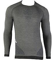 Uyn Fusyon Shirt Long SL - Funktionsshirt Langarm - Herren, Grey