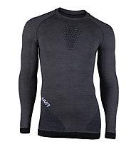 Uyn Fusyon - maglietta tecnica a maniche lunghe - uomo, Grey