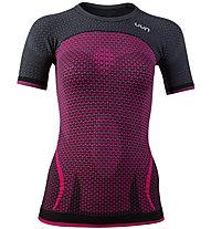 Uyn Running Alpha OW - maglia running - donna, Pink/Grey
