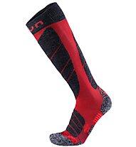 Uyn Magma - calze da sci - uomo, Red/Grey