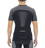 Uyn Man Biking Grandfondo OW - Radtrikot - Herren, Black/Grey
