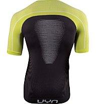 Uyn Marathon - Runningshirt - Herren, Black/Yellow