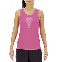 Uyn Marathon Ow - top running - donna, Pink