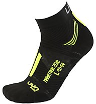 Uyn Marathon Zero Run - calzini running - uomo, Black/Yellow
