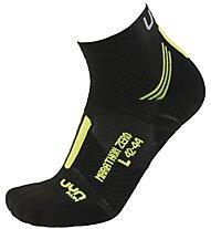 Uyn Marathon Zero Run - Laufsocken - Herren, Black/Yellow