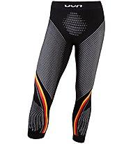 Uyn Natyon Germany Pants Medium - Funktionsunterhose 3/4 lang - Herren, Black