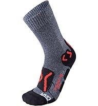 Uyn Outdoor Explorer Mid Socks - Trekkingsocken - Herren, Grey/Red