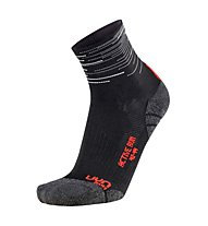 Uyn Run Active (2 Pack) - Laufsocken, White/Black