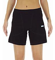 Uyn Run Fit - pantaloni corti running - donna, Black