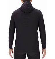 Uyn Run Fit Ow Hooded Full Zip - Kapuzenpullover - Herren, Black