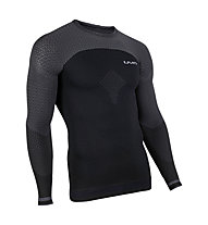 Uyn Running Alpha OW - maglia running - uomo, Black
