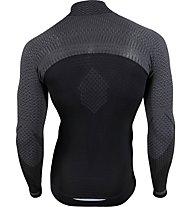 Uyn Running Alpha OW - Laufshirt mit 1/4-Zip - Herren, Black