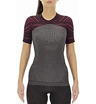 Uyn Running Coolboost Ow - Laufshirt - Damen, Grey/Violet