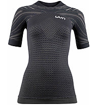 Uyn Running Coolboost Ow - Laufshirt - Damen, Black/Dark Grey