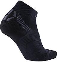 Uyn Super Fast Run - calzini corti running - donna, Black