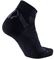 Uyn Super Run Fast - Laufsocken - Herren, Black/Grey
