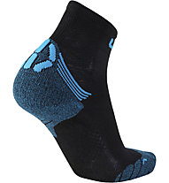 Uyn Superleggera Run - calzini corti running - uomo, Black/Blue