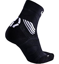 Uyn Trail Challenge Run - Laufsocken Trailrunning, Black/White