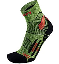 Uyn Trail Challenge Run - Laufsocken Trailrunning, Green/Red